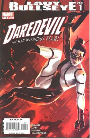 Daredevil #111 Cover A Djurdjevic (2008) Lady Bullseye Marvel comic book